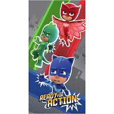 OFFICIAL PJ MASKS READY FOR ACTION COTTON TOWEL CHILDRENS