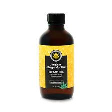 Jamican Mango & Lime Hemp Oil infused with Pimento Oil Hair Rejuvenator 4 fl.oz