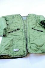 MEDIUM LINER NIGHT CAMOUFLAGE COLD WEATHER PARKA DATED 1984
