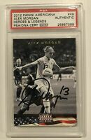 2012 Panini Americana Heroes & Legends Alex Morgan Auto PSA/DNA CERT Autograph