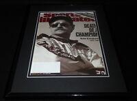Dale Earnhardt Sr Framed 11x14 ORIGINAL 2001 Sports Illustrated Cover