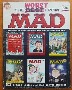 Mad Magazines - Worst Of Mad set of 8, #1-6, #8 & #12 (1958-69) VFine to VGood.
