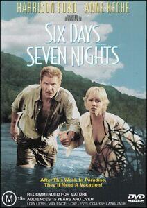 SIX DAYS SEVEN NIGHTS (Harrison FORD Anne HECHE David SCHWIMMER) DVD Region 4