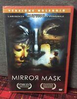 MIRROR MASK DVD Rent Nuovo Sigillato di Dave Mckean - ( Creatori Labyrinth ) N