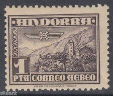 ANDORRA ESPAÑOLA - ** 59 PAISAJE - AÑO 1951 - NUEVO GOMA ORIGINAL SIN FIJASELLOS