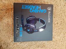 Sades SA810 Gaming Headset Single 3.5mm Jack Over Ear Gamer Headphones with Micr