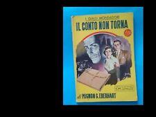 IL CONTO NON TORNA  (I GIALLI MONDADORI nr. 280)