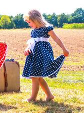 Muster aus 100% Baumwolle für alle Größe 122 Mädchenkleider