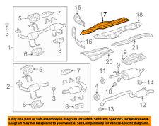 TOYOTA OEM 08-17 Sequoia 5.7L-V8 Exhaust-Heat Shield Right 581550C020