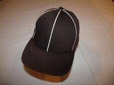 Referee Umpire Black Pinwheel Style Hat Richardson OFL 485 Large/XL Light Fading