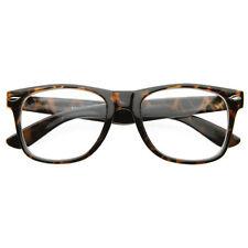 Breeze Fashion Hipster Vintage Retro Tortoise Glasses Clear Lens Nerd Eyewear