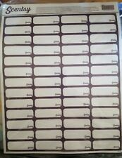 Scentsy Labels In Package 10 sheets total
