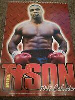 MIKE TYSON 1997 Calendar Immaculate Condition,  boxing memorabilia very rare