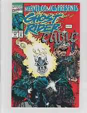 MARVEL COMICS PRESENTS #92 SIGNED BY BUD LAROSA INKER GHOST RIDER CABLE 1991 NM