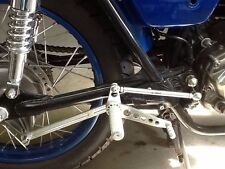 Honda CB350 Twin Bolt-On Cafe Racer-Road Racer Rear Sets