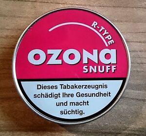 (EUR 38,00 / 100 g)  10 x 5g Ozona R-Type Snuff von Pöschl Schnupftabak