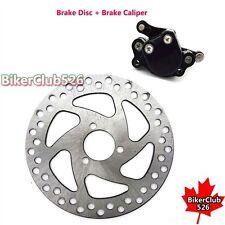 Brake Disc Rear Brake Caliper For 2 Stroke Minimoto Electric Go Kart Scooter ATV