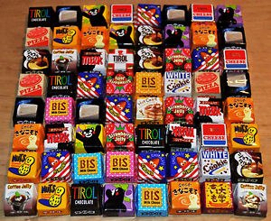 Tirol Chocolate Series, Japan, Candy, Matcha, Kinako, Pudding Mochi, Sakura, S1