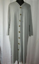J for Justify gray ribbed duster style cardigan, soft & stretchy, Plus size 3X
