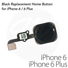 NEW iPhone 6 / 6 Plus Complete Home Button Flex Cable Replacement - Black