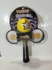 Yomega 6236 Kendama Star Catch Skill Toy Yellow Ball Black Handle