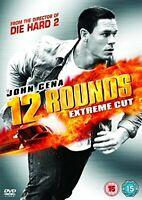 12 Rounds: Extended Cut DVD (2009) John Cena New