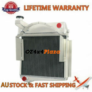 3Row Aluminium Radiator for 1967 Austin Healey Sprite MG Midget Engine Cooling