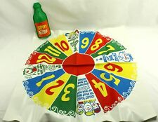 Vintage 1968 Spin the Bottle Game Hassenfeld Bros Incomplete / For Parts