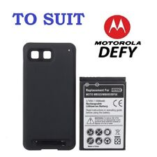 3500mAh Extended Life Thick Battery For Motorola Defy Phone MB525 MB-525 BF5X