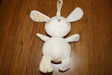Mamas & Papas Parsnip bunny rabbit rattle. Baby boy / girl.