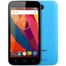 """Blackview A5 4.5"""" 3G Smartphone Android 6.0 MTK6580 Quad Core 1G/8G Azul"""