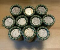 (50) Barber Dimes 90% Silver 1892-1916 Lot of 50 Dimes Estate Sale Dime Rolls