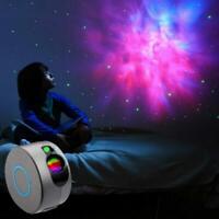 Rotation LED Starry Sky Projector Light Ocean Wave Star Nebula Night Lamp Useful