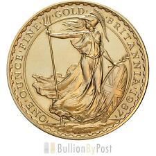 1oz Gold Britannia 22ct Mixed Years