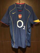 Nike x Arsenal O2 Blue Jersey Short Sleeve Shirt, Soccer Football, Mens M