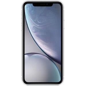 "Apple iPhone XR 6.1"" 64GB Water-Resistant Unlocked Smartphone - White"