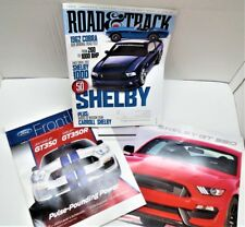 2016 & 2017 Shelby GT350 & GT350R Literature & Brochure + R&Ts 50 yrs. of Shelby