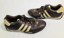Adidas Team Goodyear Driving Shoes Brown Size Mens 10