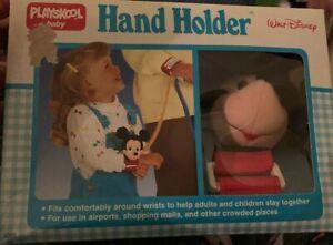 Vintage 1980s Disney Playskool Baby Hand Holder - Mickey Mouse Brand New!