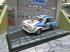 FIAT 75 Abarth Ritmo Rallye Monte Carlo 1980 #15 Bettega WM IXO Altaya 1:43
