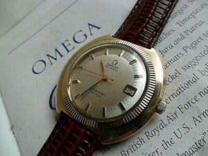 41.7 mm Vintage 1971 Men's Omega Seamaster De Ville 17J Cal. 563 Automatic Watch