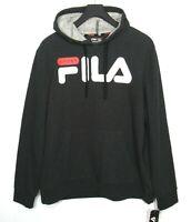 FILA SPORT Mens Hoodie Sweatshirt FLEECE 2.0 Technology Gray Size XL NWT