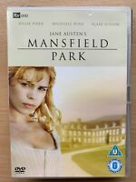 Mansfield Park DVD 2007 ITV Jane Austen Classic TV Mini Series w/ Billy Piper