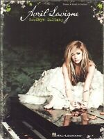 Avril Lavigne Goodbye Lullaby Songbook Piano Voice Guitar 2011 What The Hell