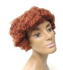 Vintage NOS Lacey Costume Wig of New York Orphan Annie Curly Red Hair Cosplay