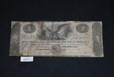 WPC ~ $2 Bank State South Carolina Charleston May 1862 Haxley 45-G120 CR-S 941