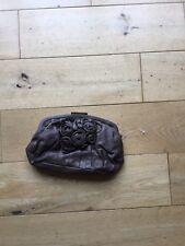 BNWT Marine Wester Bolso De Cuero Marrón Chocolate RRP £ 150