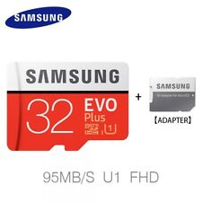 Samsung 32 GB Micro SD Tarjeta SDHC EVO + 95MB/s UHS-I Clase 10 TF con Adaptador Gratis