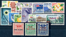 COOK ISLANDS 1967 DEFINITIVES SG205/221 (DECIMAL CURRENCY) MNH