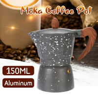 Gift Box+Metal Coffee Moka Tea Maker Espresso Percolator Pot Machine Home Office